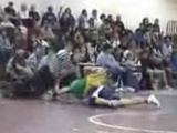 Awesome Ninja Wrestling Move
