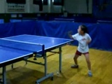 6 Year Old Ping Pong Champion