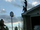 Human Basketball Shot