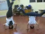 Breakdance Headspin FAIL