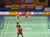 Crazy Badminton Rally