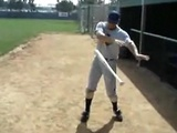 Cool Spinning Baseball Bat Trick