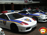 Korea Police's New Fleet Of Supercars