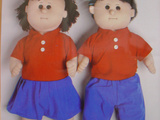 Funny Family Planning Dolls In Hong Kong