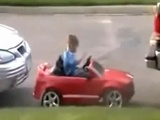Kid With Parallel Parking Skills