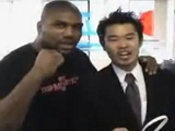 Rampage Jackson Messing Around With Japanese Fans