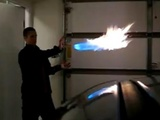 Awesome Wrist Mounted Flame Throwers