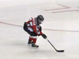 Incredible 9 Year Old Hockey Goal