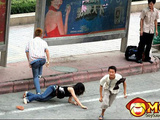 Chinese Pickpocketers Are Like Ninjas