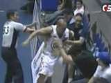 Angry Filipino Baller Punches Fan