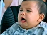 Funny Asian Baby Gets Shocked