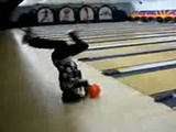 Headspinning Bowling Shot