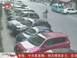 Chinese Man Throws Bike At Thieves