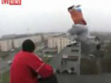 Crazy High Building To Building Jump