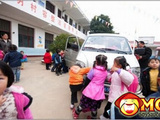 School Bus In China