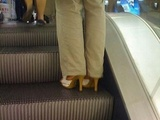 Asian Dude With High Heels