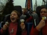 Try Eating Ice Cream On Roller Coaster