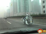 Cool Towing Motorcycle In China