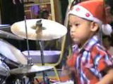 Awesome Asian Drummer Boy