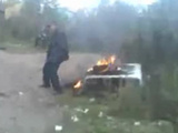 Idiot Sets Pants On Fire