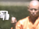 Shaolin Monk Throws Needle Through Glass