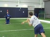 UConn's New Quarterback - Awesome Football Trick Throws