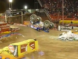 1st Ever Monster Jam Backflip