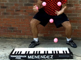 World's Fastest Piano Juggler