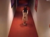 Little Girl In Hotel Hallway Prank