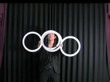 Awesome Contact Juggling With Rings