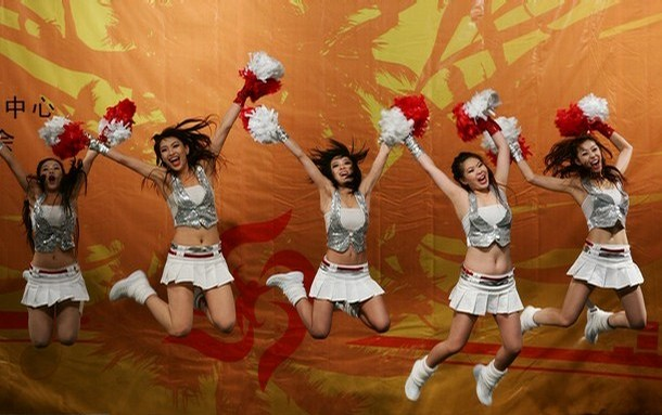 asian beijing cheerleaders 21