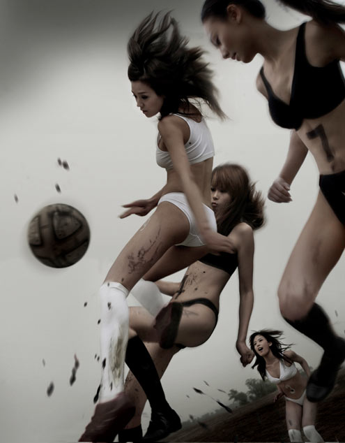 asian-chicks-playing-with-football-ball-undies
