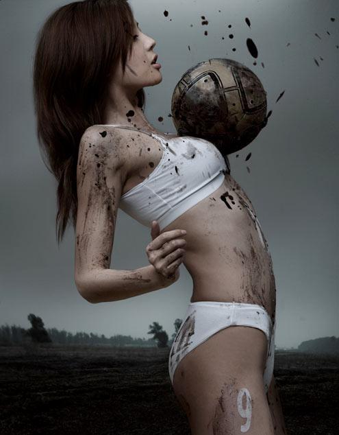 asian-girl-playing-soccer-football-undies