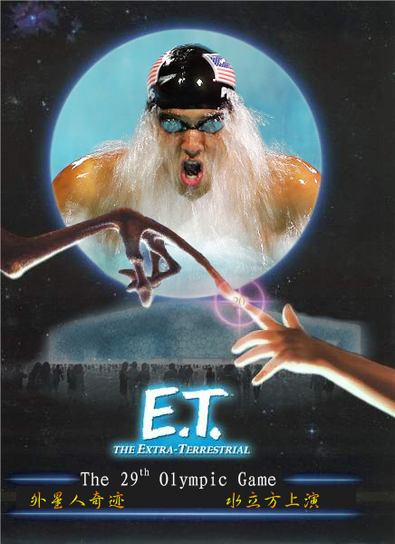 olympics-movie-poster-et-extra-terrestrial-usa-michael-phelps