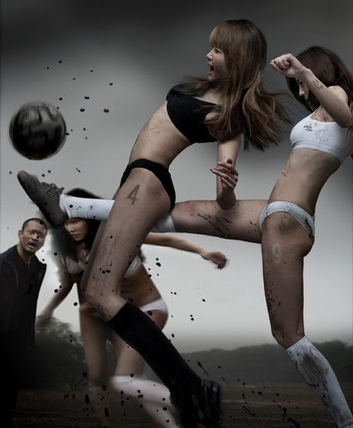super-sexy-asian-women-playing-football-soccer-in-mud