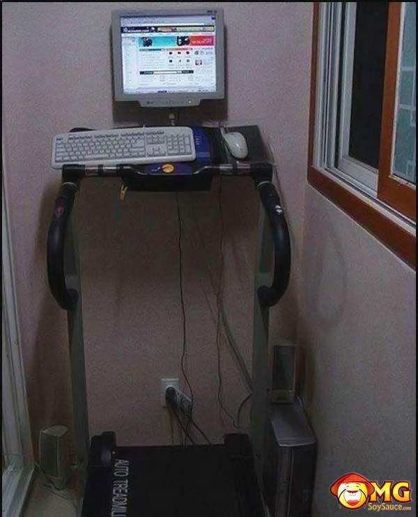 computer-treadmill