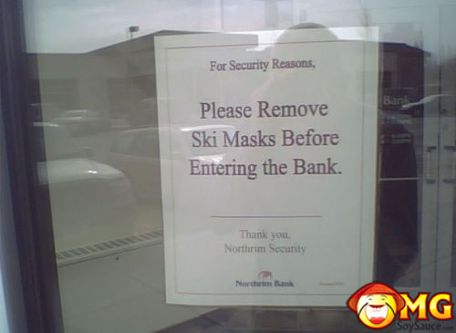 dumb-bank-courtesy-sign