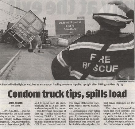 Newspaper titles funny