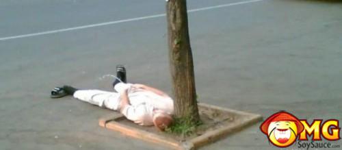 laying-down-peeing
