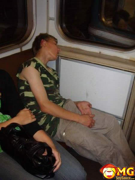 funny-subway-train-pictures-pics-sleeping-boner