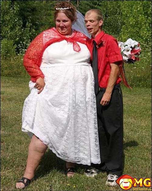 fat-skinny-ugly-wedding-couple