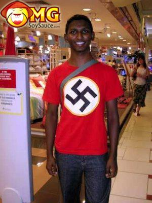 funny-black-guy-nazi-shirt