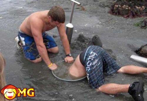 sewer-diving