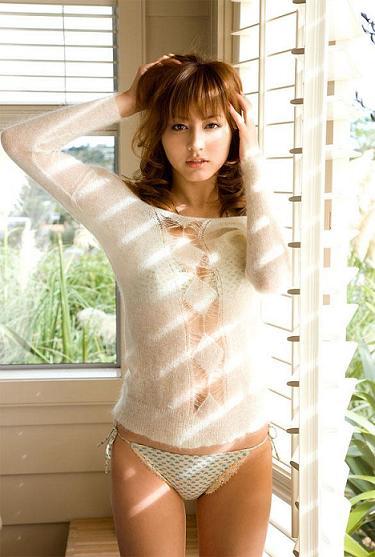 Sexy asian babe asahi miura gets hairy pussy exposed and dri 1