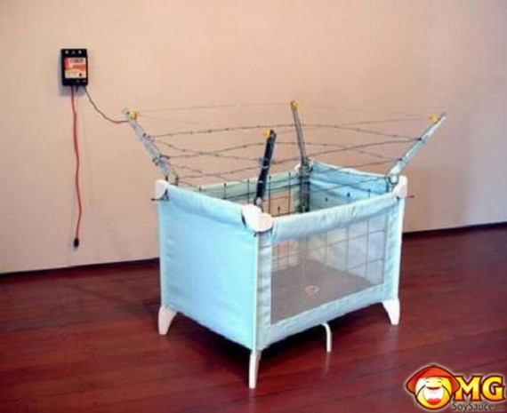 barbed-fence-baby-crib