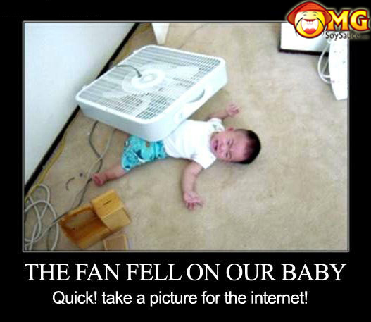 fan-fell-on-asian-baby