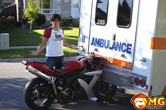 motorcycle-ambulance-accident