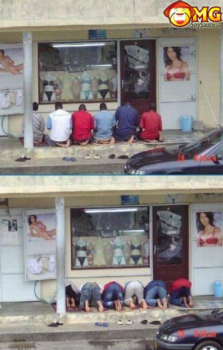 funny-praying-to-lingerie-random