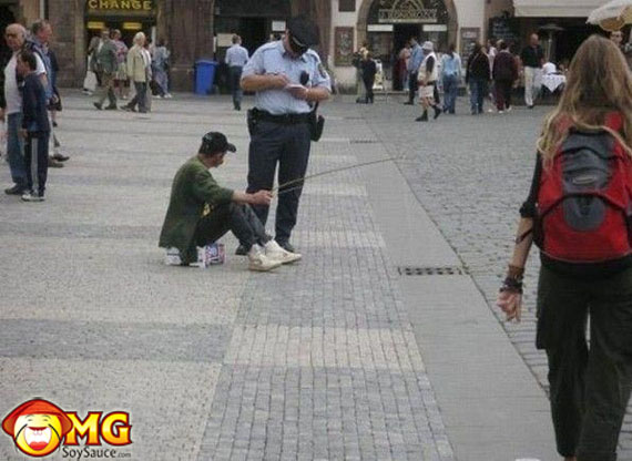 funny-drunk-man-fishing-in-sewer