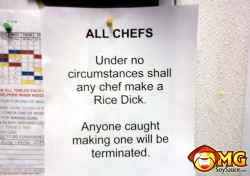 rice-dick-funny-note-chef